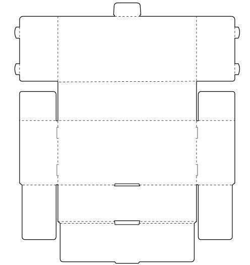 Self Locking Tray And Snap Lock Bottom Box Templates