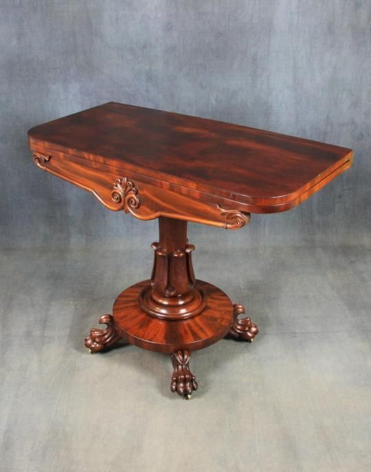 William Iv Mahogany Tea Table available to buy online now with Looking For  Antiqes. - 84 Best Looking For Antiques Tables Images On Pinterest Antique