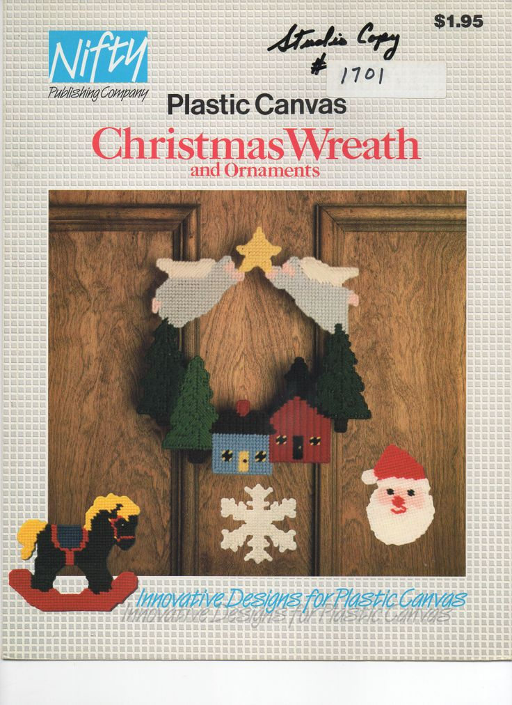 47 Best Images About Plastic Canvas Wreaths On Pinterest