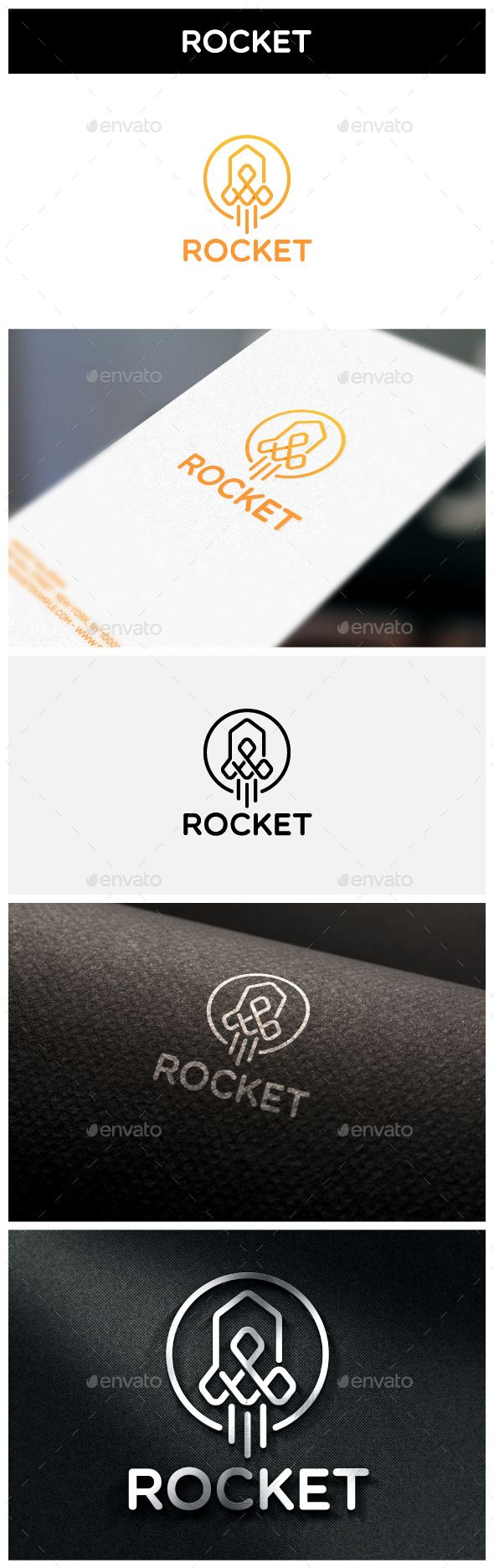Rocket Logo — Vector EPS #design #pixel • Available here → https://graphicriver.net/item/rocket-logo/15333427?ref=pxcr
