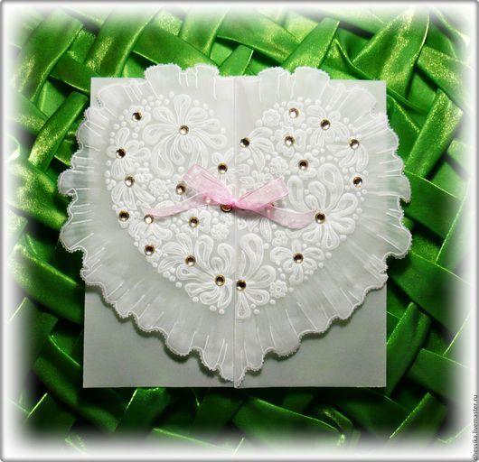 Открытка с сердцем.Поздравить девушку.Свадебная открытка.Поздравить с днём рождения.Открытка на день рождения.Подарок любимой