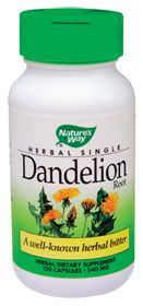Dandelion Root - To release the water fluid intake in your body that causes swollen ankles and feet.