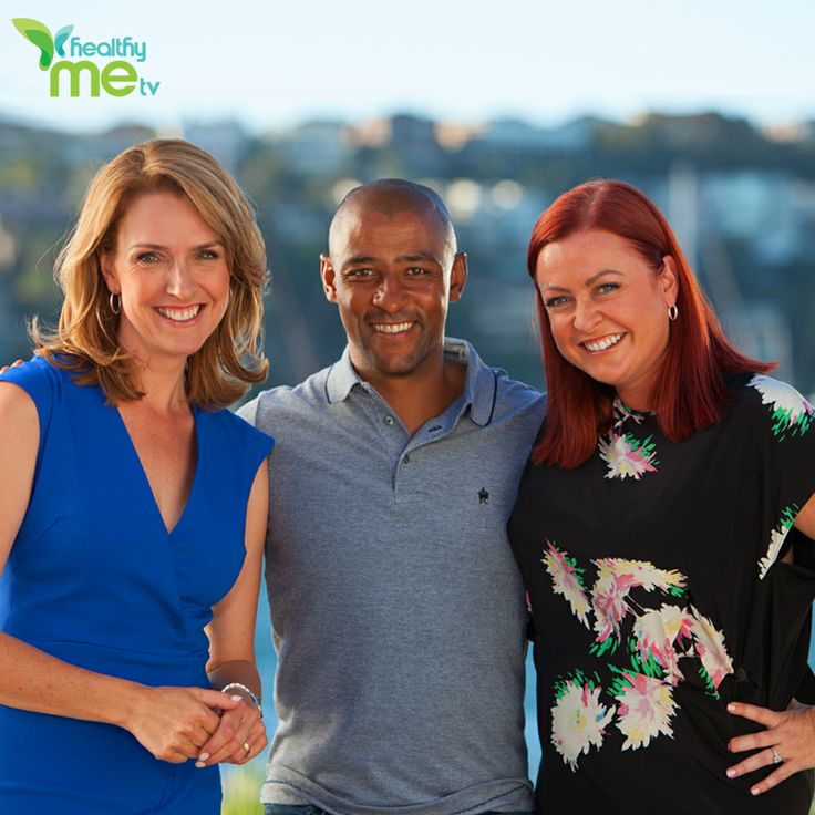 Join our hosts at www.healthymetv.com.au