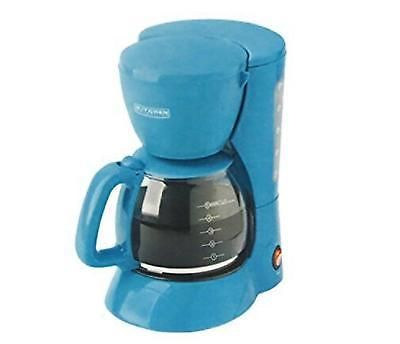 5 Cup Coffee Maker Machine Brewer Coffeemaker Tea/turquoise Home Office Kitchen