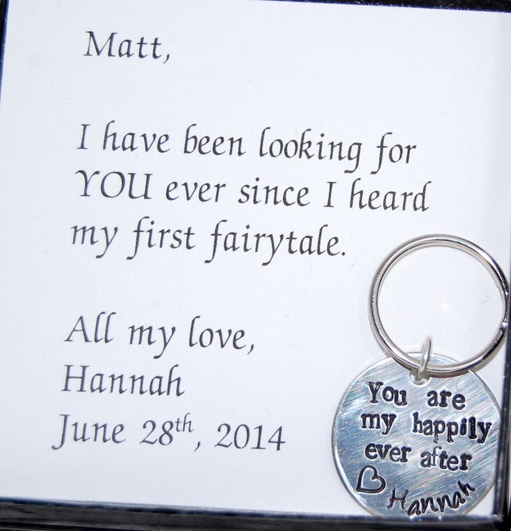GROOM Gift from Bride To groom from bride, Valentines Day, Happily ever after, wedding day gift, Personalized keychain, Keychain for groom by SoBlessedDesigns on Etsy https://www.etsy.com/listing/195487645/groom-gift-from-bride-to-groom-from