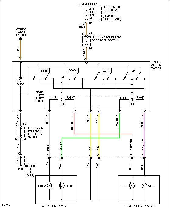 2009 Chevy Silverado Door Lock Wiring Diagram