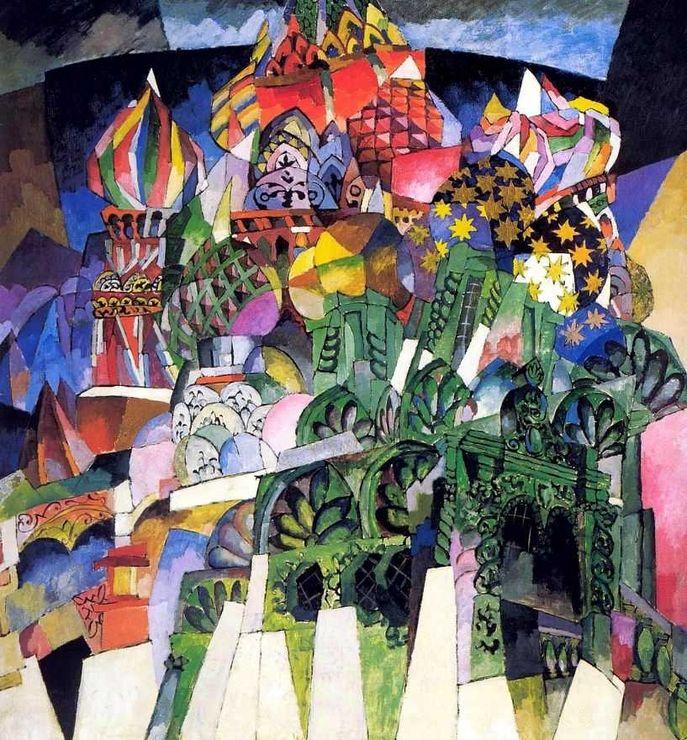 Аристарх Лентулов-его живопись это праздник, красочный фейерверк, щедрое излияние любви к жизни. | Волшебная сила искусства