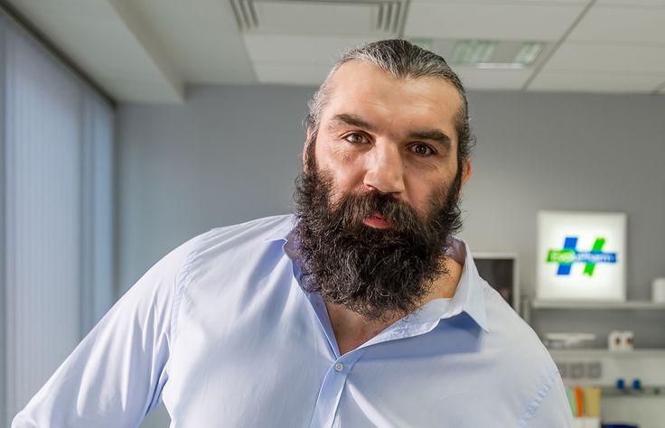 Le rugbyman Sébastien Chabal est égérie du laboratoire pharmaceutique Evolupharm.