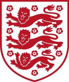 England national football team logo (red)