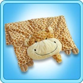 My Pillow Pets Giraffe Blanket  Order at http://amzn.com/dp/B008MMSGKY/?tag=trendjogja-20