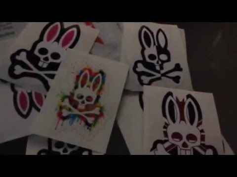 Free stickers by mail psycho bunny