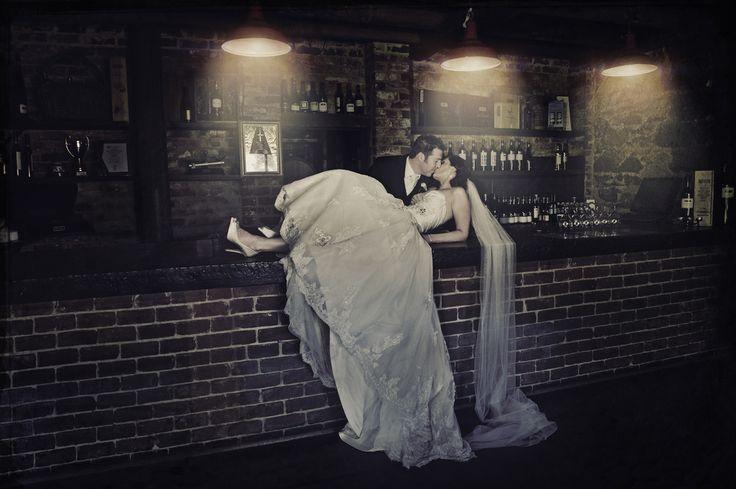 Megan & Matt photographed at Wirra Wirra Cellar Door, McLaren Vale wedding photography