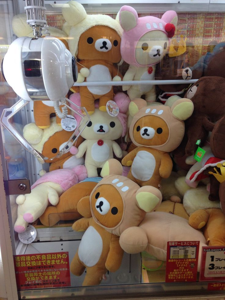 Claw Machine Plush Toys : Best kawaii and japanese things images on pinterest