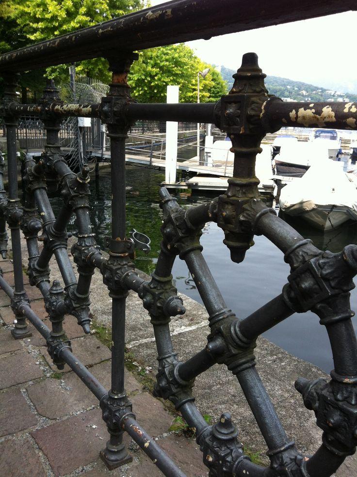 Svag för staket - Comosjön