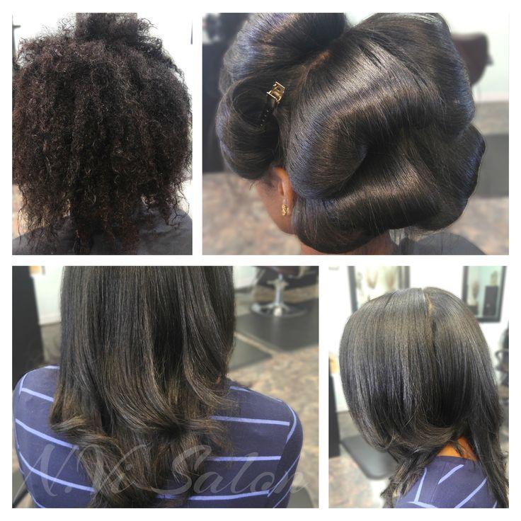 Pressed Natural Hair Care Salon