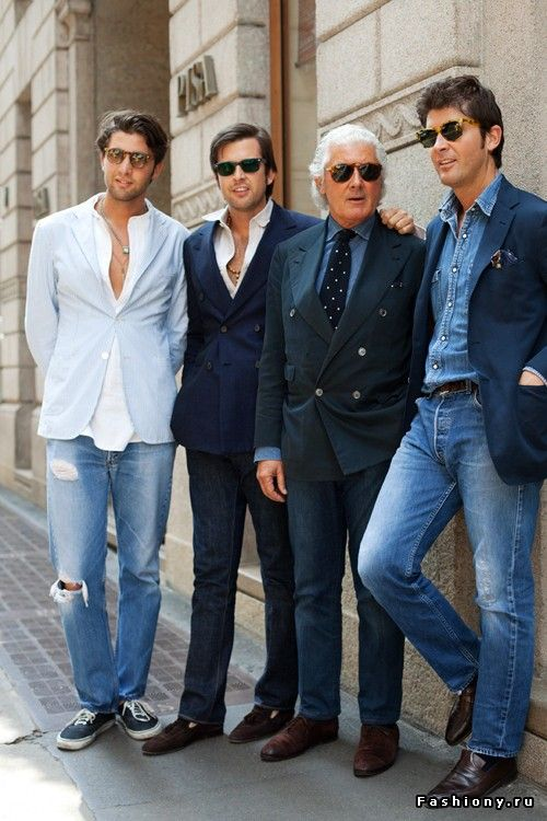 Итальянские модники / итальянские мужчины
