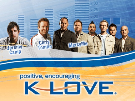 My favorite radio station. I love that it is practically everywhere and I can find klove stations when I travel and keep hearing the same great positive songs and messages I love. I also love that wherever I am, and wherever my family may be, we can be in completely different states and listening to the same station.