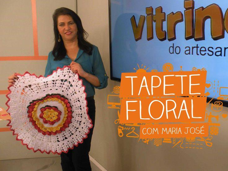 Arte Brasil Tapete Maria Jose : Tapete Floral no Pinterest Tapetes, Tapetes De ?rea e Tapetes
