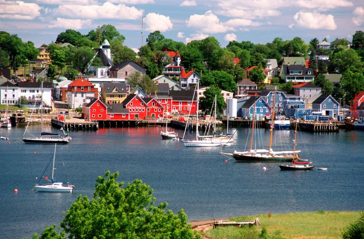 Lobster Sheds and Boats, Bar Harbor, Maine - Jessie Parker/Getty Images - There's a reason why Martha Stewart vacations in Bar Harbor ... .  ... http://scotfin.com/ says, I didn't know; I think Martha's been holding out on us.