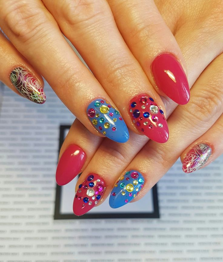 #effectivenails #effectiveteam #hybryda #effectivgirl #niebieski #nails #kroplerosy