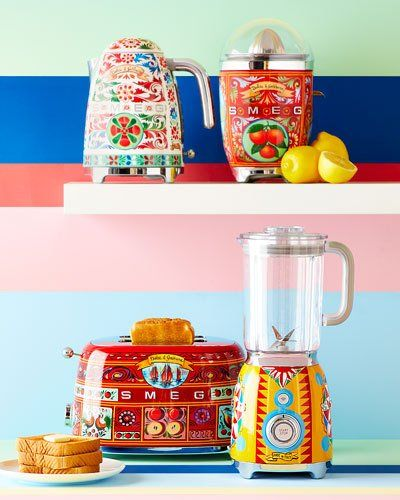 687d9e2af824 7NB6 Smeg Dolce Gabbana x SMEG Sicily Is My Love Tea Kettle ...