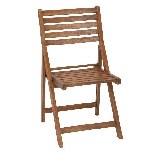 Acacia Wood 4pc Folding Chair Set Brown Cosco Outdoor Living Target