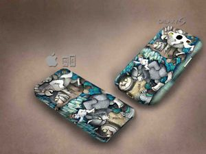 Where the wild things 3D case, full image, for iphone 4/5/5c & Galaxy S3/S4