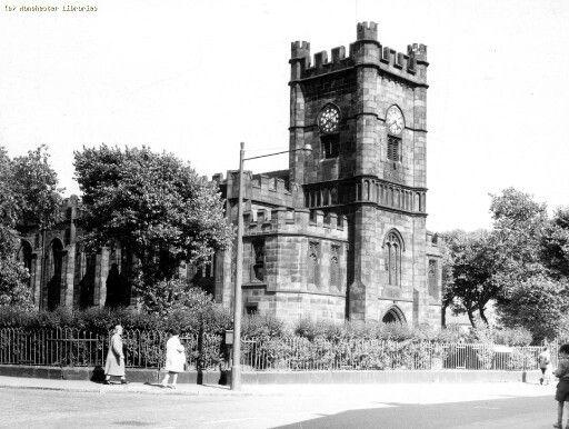 All Saints Church, Droylsden Road, Newton Heath, Manchester.