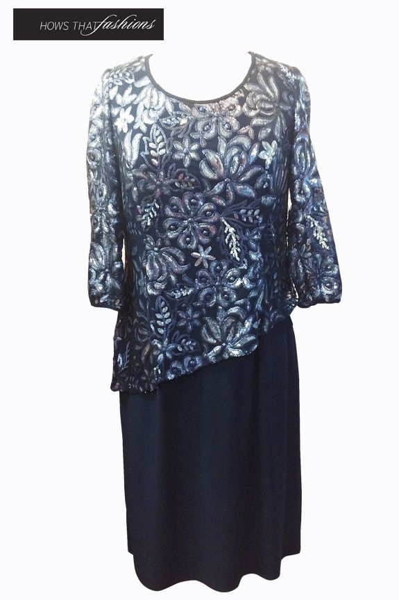 Available at Hows That Fashions Laura K - L6789 $309.00