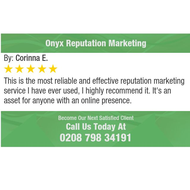 This is the most reliable and effective reputation marketing service I have ever used, I...