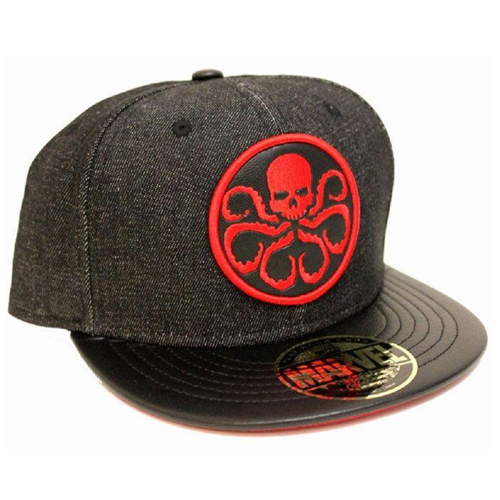Marvel Hydra Snap Back Cap