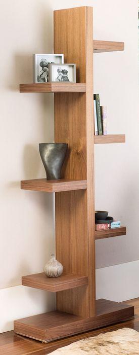 Branch bookcase walnut