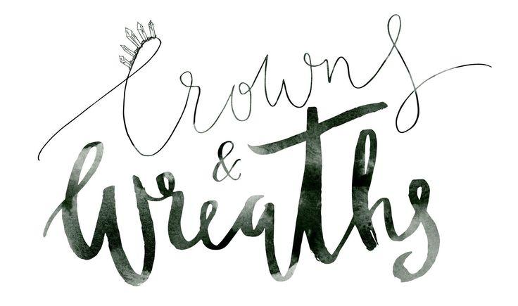 Crowns&Wreaths logo by MyCreativeSpace in Sydney