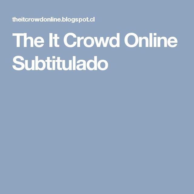 The It Crowd Online Subtitulado