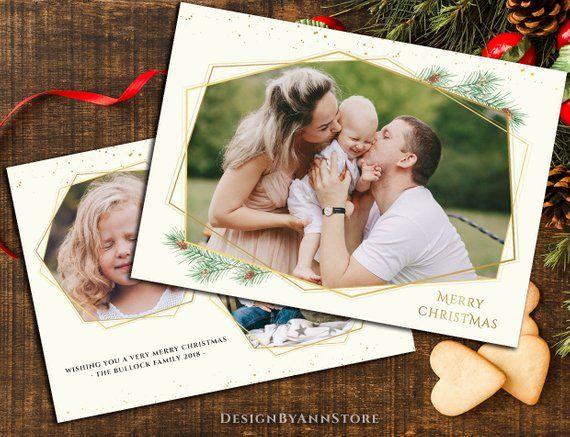 Christmas Card Overlay Png Photoshop Christmas Card Template For Photographers Christmas Pine Branch Christmas Gold Template Christmas Card Photoshop Christmas Card Template Card Template