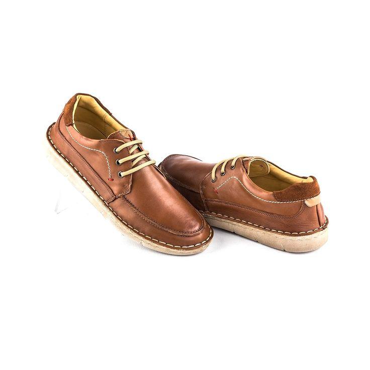 Pantofi barbati Piele Damian maro tip casual #magazindefashion