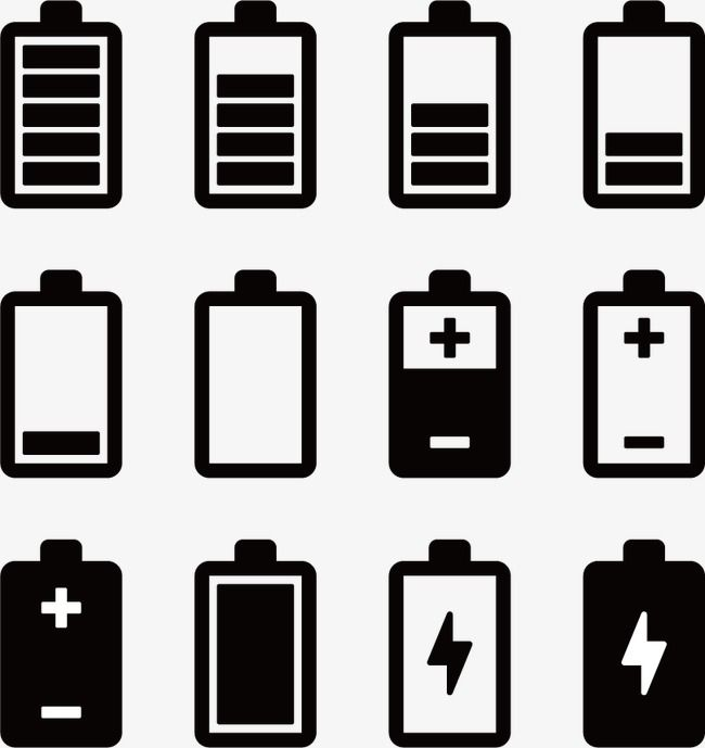 Battery Icon Png And Vector Battery Icon Vector Icons Free Glyph Tattoo