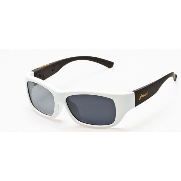 #Okulary ze sterowanym zaciemnieniem:: przeciwsłoneczne z polaryzacją #Glassini Aruba White/Black