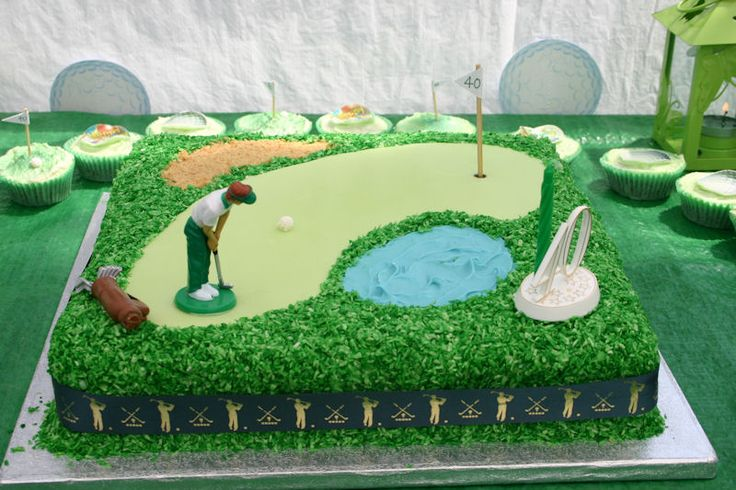 Golf Themed Cake                                                       …
