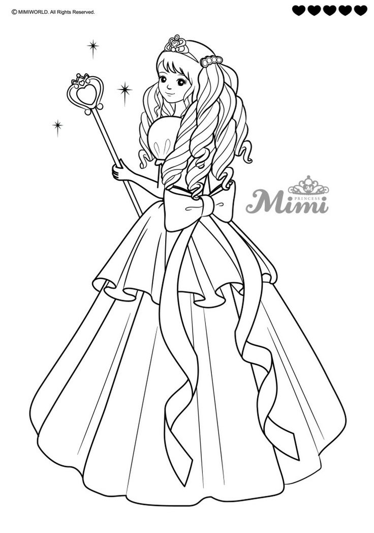 78 best Coloring Pages (Royalty) images on Pinterest ...