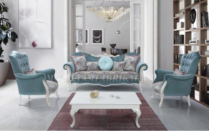 Uçuk mavi tasarımı ile farklı bir havası olan takımımız tüm inegöl mobilya mağazalarında sizleri bekliyor. #mobilya #inegöl #dekorasyon #modern #tasarım #koltuk #oda #ceviz #yaşam #ev #takım #armchair #chester #kapitone #klasik