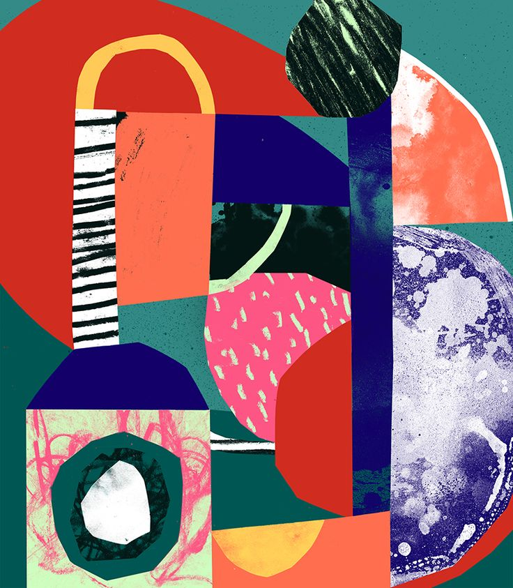 Illustration graduate Tom Abbiss Smiths speaks to CR about mark making, texture and colour, and what inspires his work