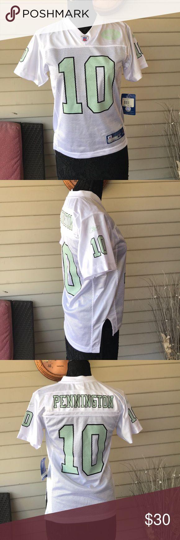 Reebok NFL Jets Pennington #10 Jersey Reebok NFL Jets Pennington #10 Jersey Damages as pictured Reebok Tops Tees - Short Sleeve