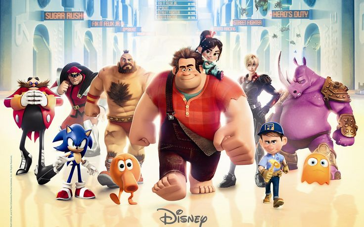 Wreck It Ralph Wallpapers Wreck It Ralph Live Images HD
