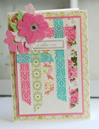 I Miss you - Anna Griffin cardmaking