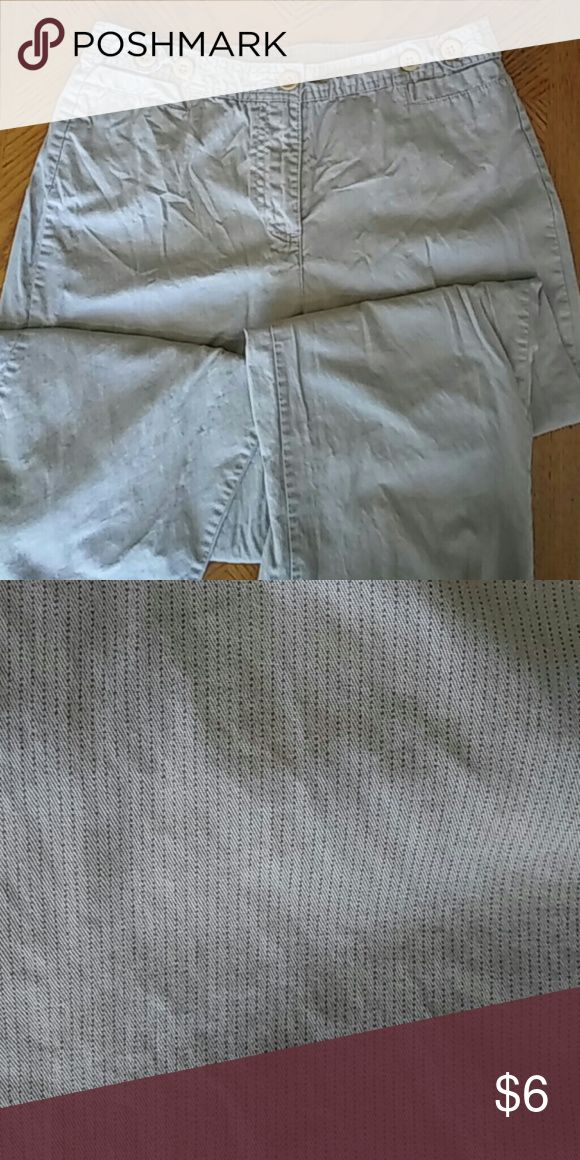 Striped kaki pants Striped kaki pants Pants Straight Leg