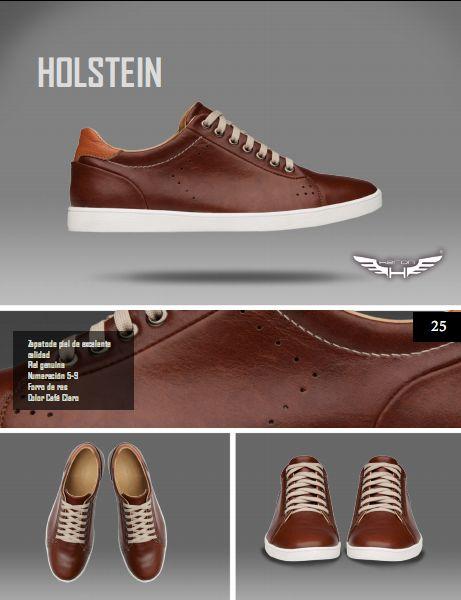 #Calzado modelo holstein, color café claro. #moda