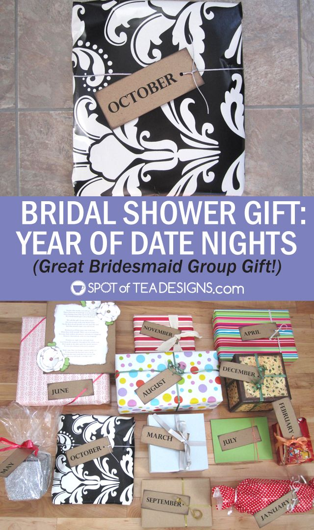 Bridal Shower Year Firsts