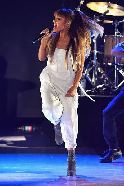Ariana Grande performs onstage during Macy's Presents Fashion's Front Row on September 7, 2016 in New York City. - Macy's Presents Fashion's Front Row - Show
