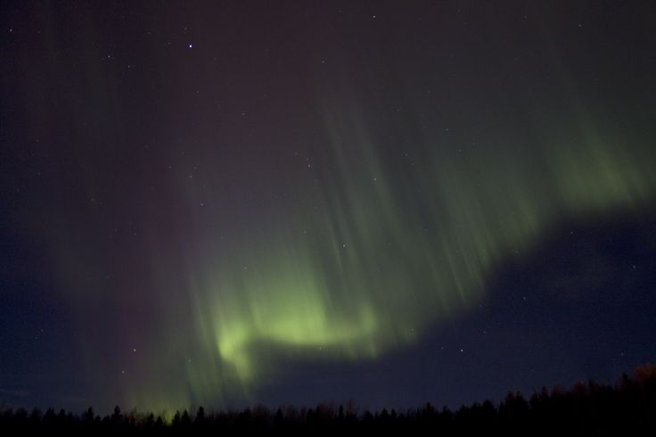 Northern Lights over Närpes. Photo: Johanna Nyberg